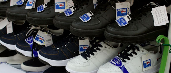 Pepsi shoes